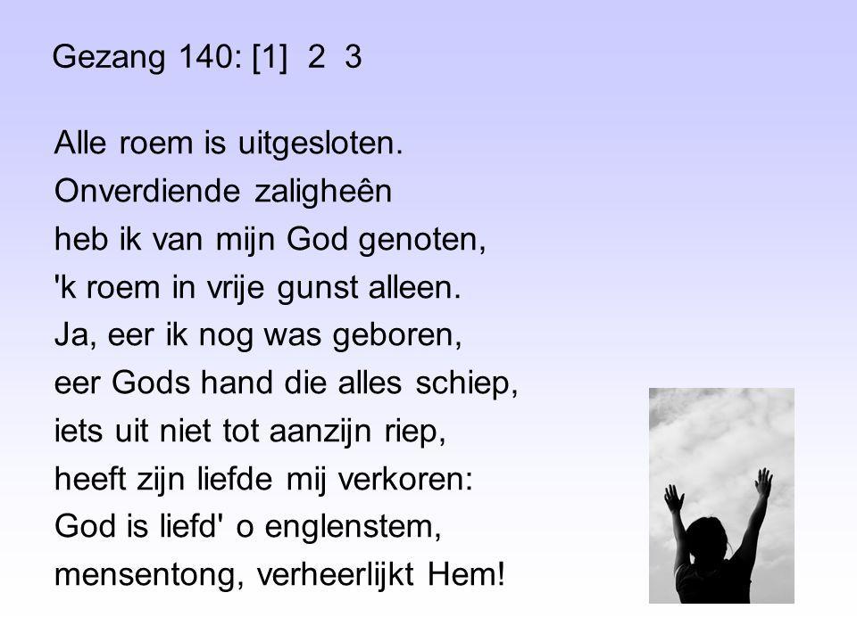 Gezang 140: [1] 2 3
